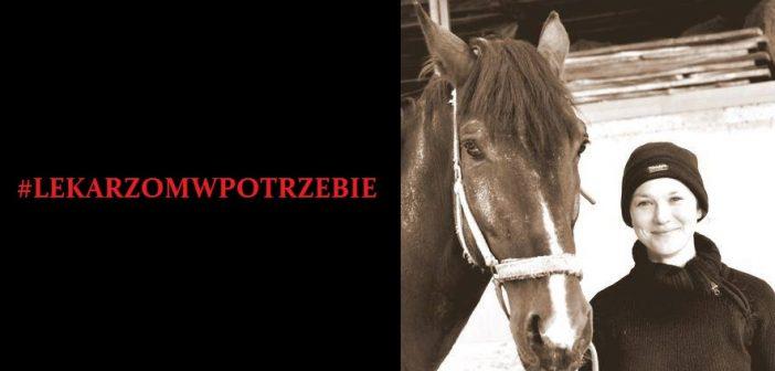 #LEKARZOMWPOTRZEBIE potrzebne wsparcie dla dr n.wet. Agaty Porzuczek